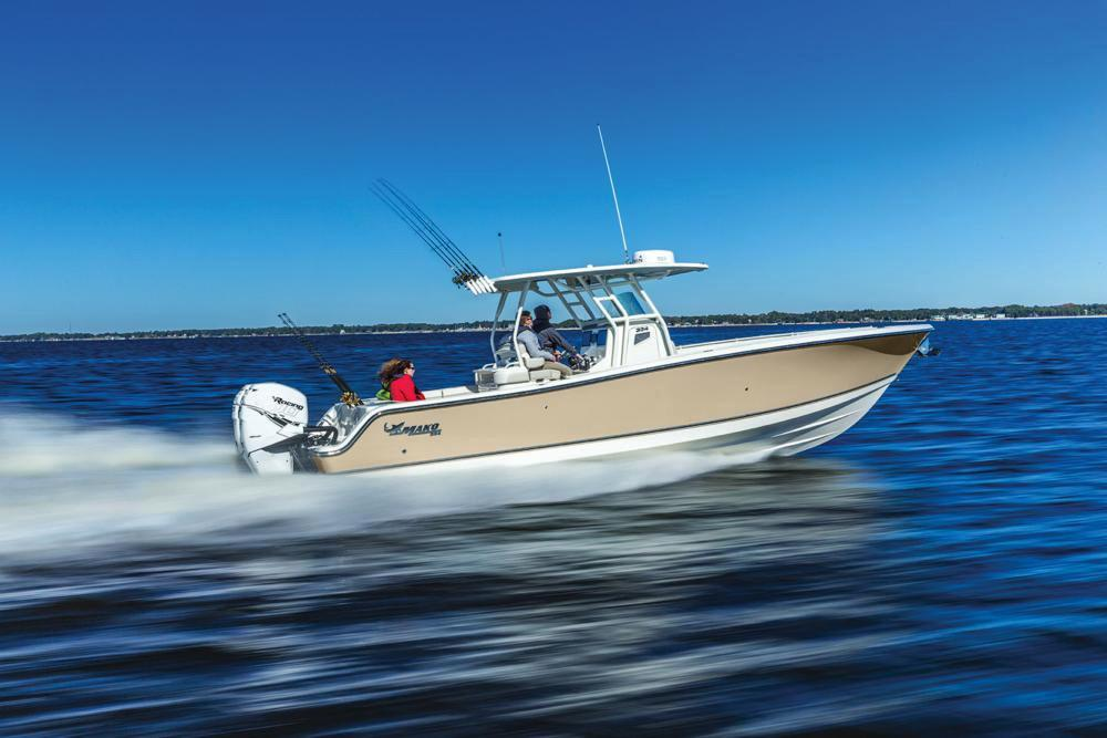 2018 Mako 334 CC in Holiday, Florida