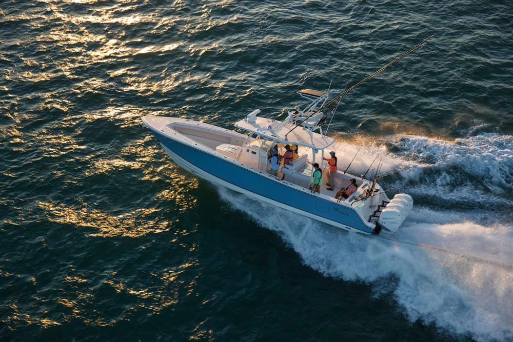 2020 Mako 334 CC Sportfish Edition in Eastland, Texas - Photo 12