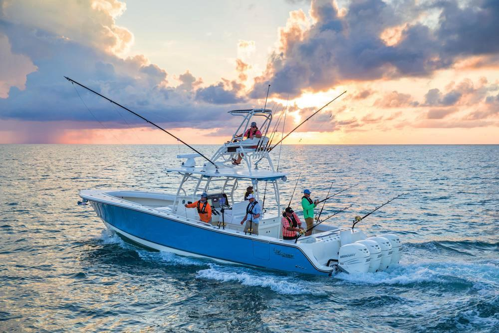 2020 Mako 334 CC Sportfish Edition in Eastland, Texas - Photo 17