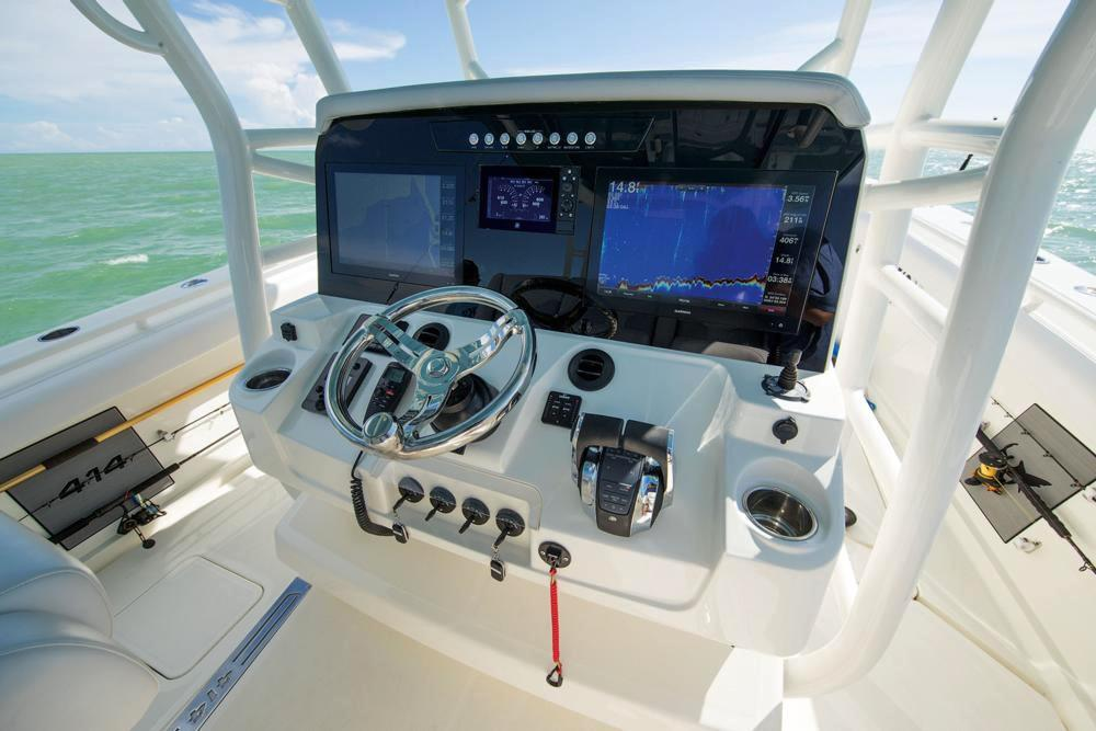 2020 Mako 334 CC Sportfish Edition in Eastland, Texas - Photo 49