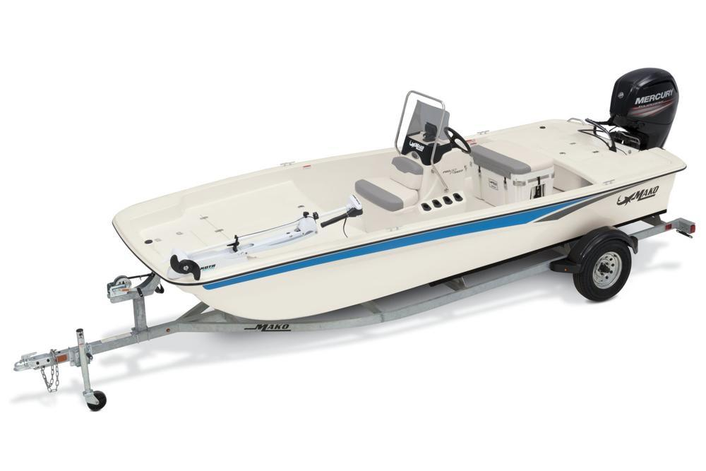 2020 Mako Pro Skiff 17 CC in Waco, Texas - Photo 1