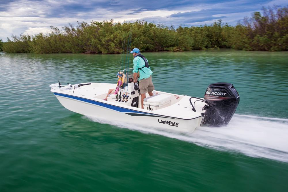 2020 Mako Pro Skiff 17 CC in Waco, Texas - Photo 2