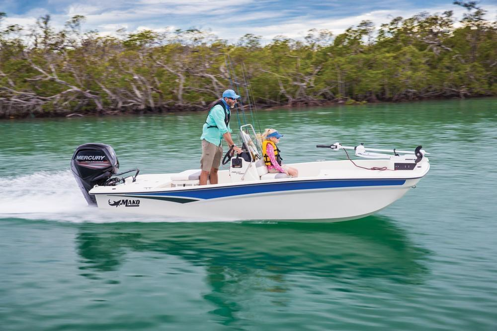 2020 Mako Pro Skiff 17 CC in Waco, Texas - Photo 3
