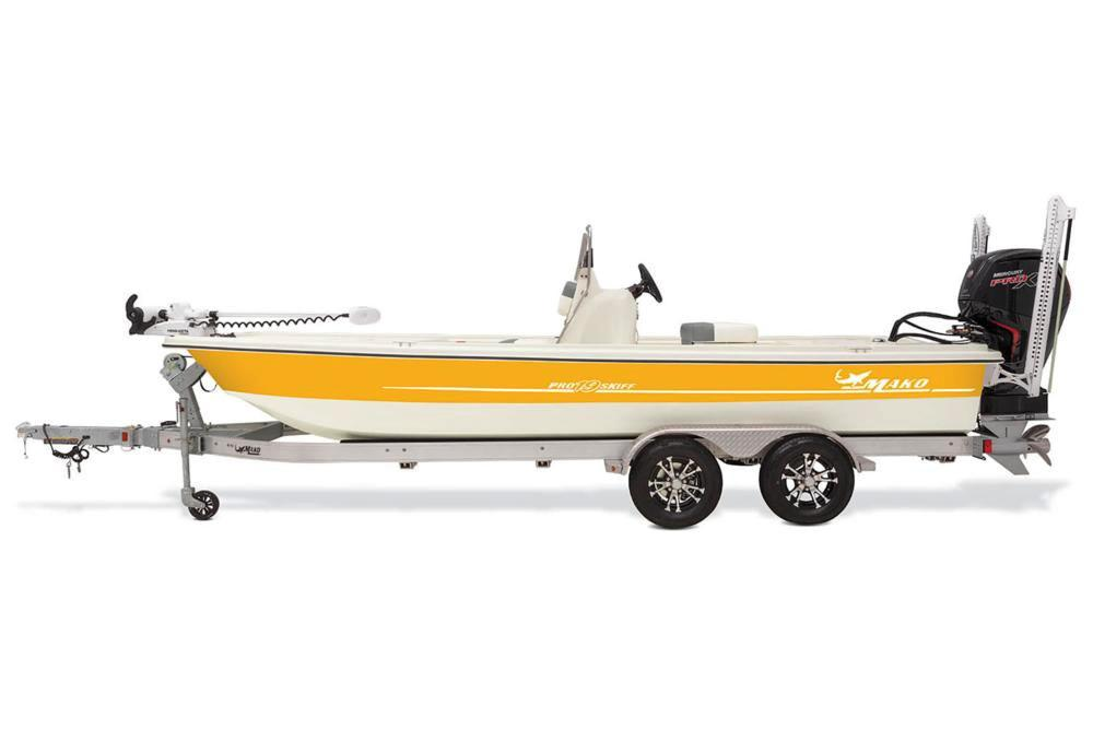 2020 Mako Pro Skiff 19 CC Guide Pkg in Eastland, Texas - Photo 2