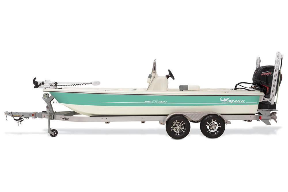 2020 Mako Pro Skiff 19 CC Guide Pkg in Eastland, Texas - Photo 4