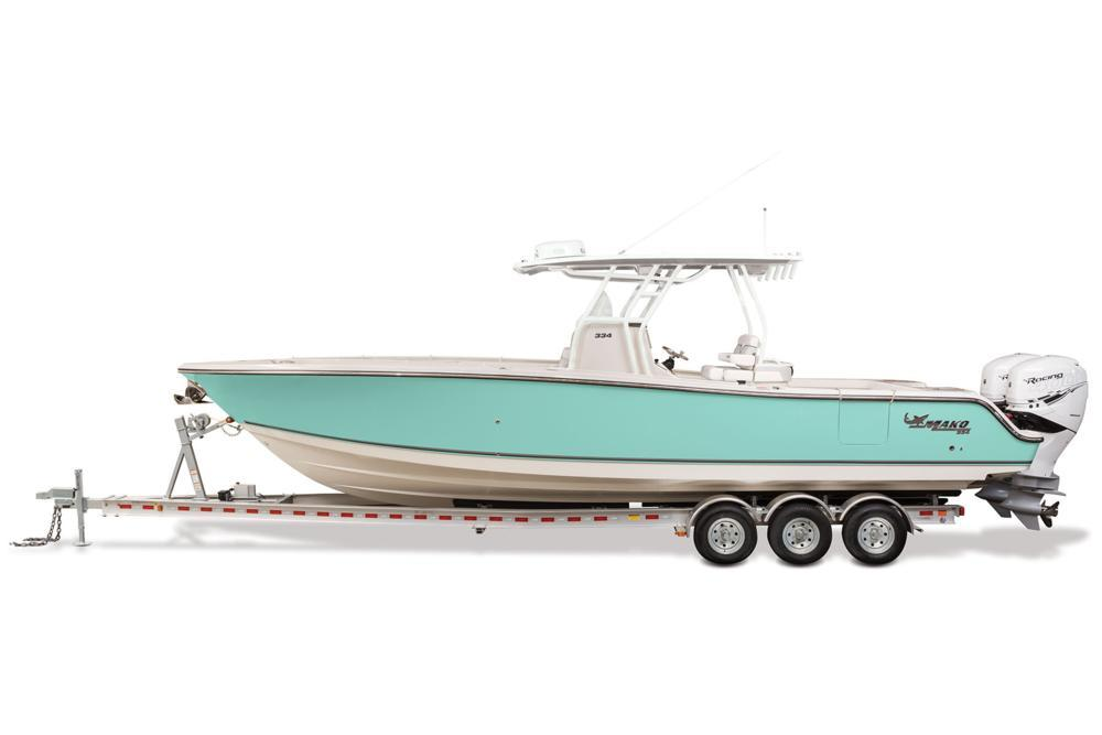 2021 Mako 334 CC in Eastland, Texas - Photo 7