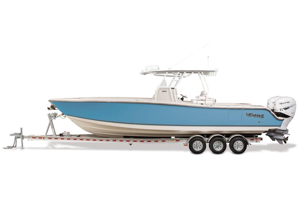 2021 Mako 334 CC in Eastland, Texas - Photo 11