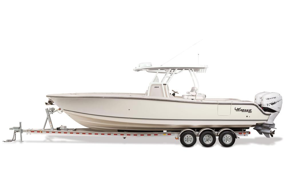 2021 Mako 334 CC in Eastland, Texas - Photo 13