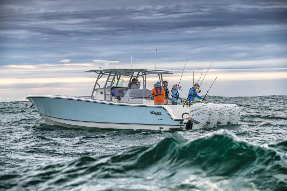 2021 Mako 414 CC in Eastland, Texas - Photo 4