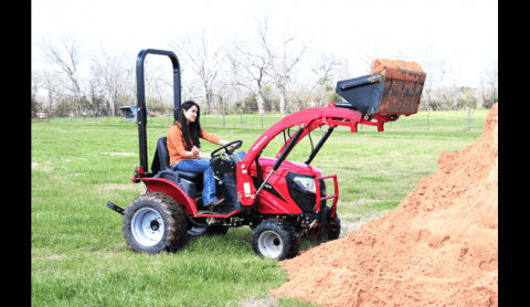 2016 Mahindra eMax 22 HST in Mount Pleasant, Michigan