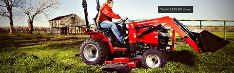 2017 Mahindra Max 22/25 (60 in.) Mid-Mount in Fond Du Lac, Wisconsin