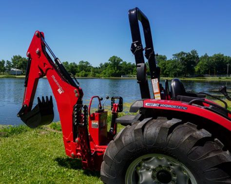 2018 Mahindra 65B Backhoe in Charleston, Illinois