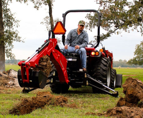 2018 Mahindra 65BH Backhoe in Cedar Creek, Texas