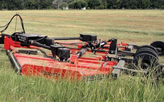 2018 Mahindra 15-Foot Flex Wing Rotary Cutter in Elkhorn, Wisconsin