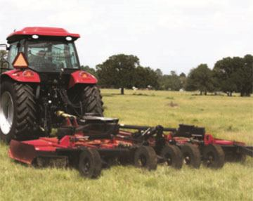 2018 Mahindra 15-Foot Flex Wing Rotary Cutter in Charleston, Illinois