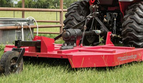 2018 Mahindra 6-Foot 3-Point Slip Clutch Medium Duty Rotary Cutter in Elkhorn, Wisconsin