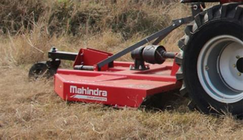 2018 Mahindra 6-Foot 3-Point Slip Clutch Standard Duty Rotary Cutter in Saucier, Mississippi