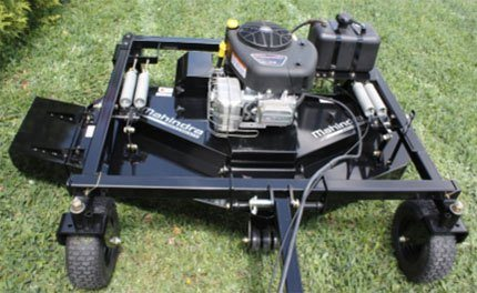 2018 Mahindra XTV Finish Mower in Elkhorn, Wisconsin