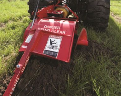 2018 Mahindra 36-Inch 330 Trencher (6 in. CUP) in Evansville, Indiana