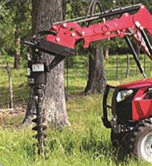 2019 Mahindra Hydraulic Post Hole Digger SSL mount in Saucier, Mississippi