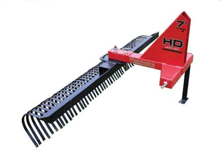 2019 Mahindra 7-Foot Heavy-Duty Landscape Rake in Purvis, Mississippi