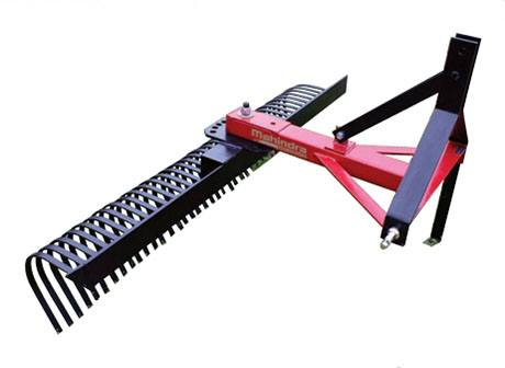 2019 Mahindra 8-Foot Standard-Duty Landscape Rake in Evansville, Indiana