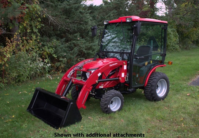 2020 Mahindra eMax 25S HST Cab in Land O Lakes, Wisconsin - Photo 4