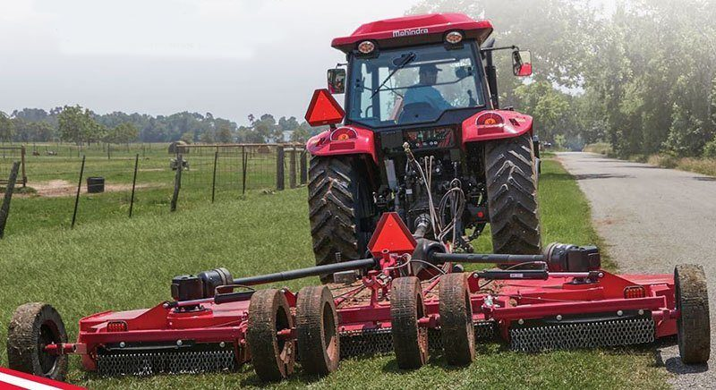 2021 Mahindra F-12 Flex Wing Rotary Cutter in Berlin, Wisconsin
