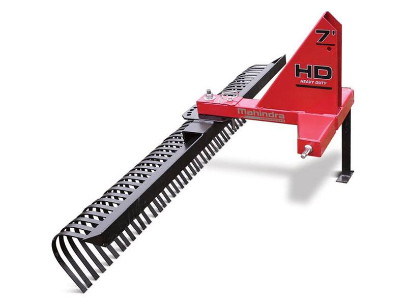 2021 Mahindra 6 ft. Heavy-Duty Landscape Rake in Mount Pleasant, Michigan