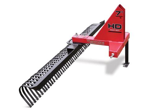 2021 Mahindra 6 ft. Heavy-Duty Landscape Rake in Saucier, Mississippi
