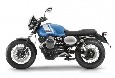 2016 Moto Guzzi V7 II Scrambler ABS in West Chester, Pennsylvania