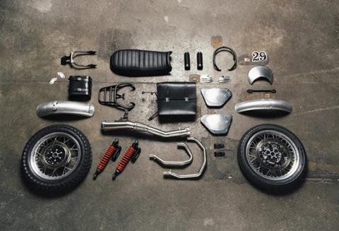 2016 Moto Guzzi V7 II Scrambler ABS in Brea, California
