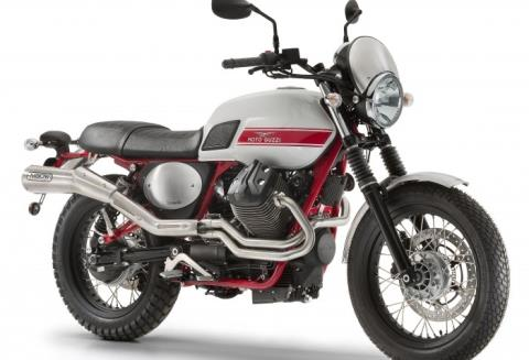 2016 Moto Guzzi V7 II Stornello in Woodstock, Illinois
