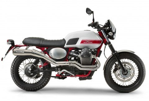 2016 Moto Guzzi V7 II Stornello in Saint Charles, Illinois