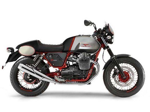 2016 Moto Guzzi V7 II Racer ABS in Ferndale, Washington