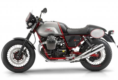 2016 Moto Guzzi V7 II Racer ABS in West Chester, Pennsylvania - Photo 2