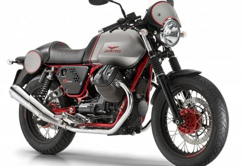 2016 Moto Guzzi V7 II Racer ABS in West Chester, Pennsylvania - Photo 3
