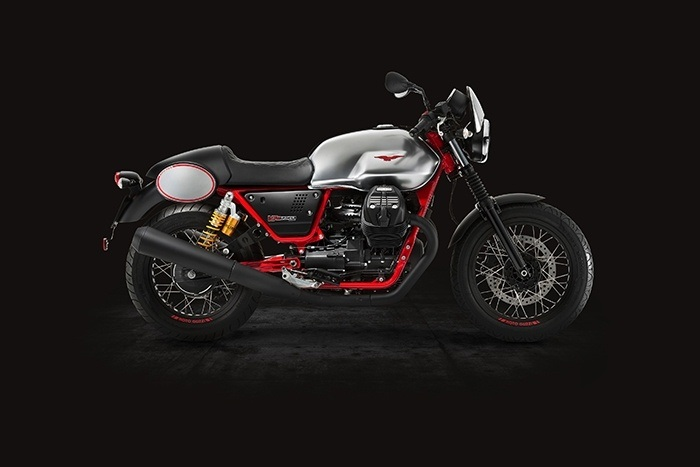 2017 Moto Guzzi V7 III Racer ABS in Brea, California