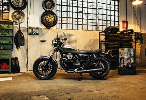 2017 Moto Guzzi V9 Bobber in West Chester, Pennsylvania