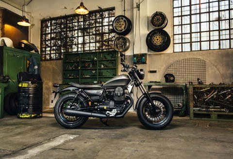 2017 Moto Guzzi V9 Bobber in San Jose, California