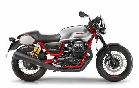 2017 Moto Guzzi V7 III Racer in Depew, New York