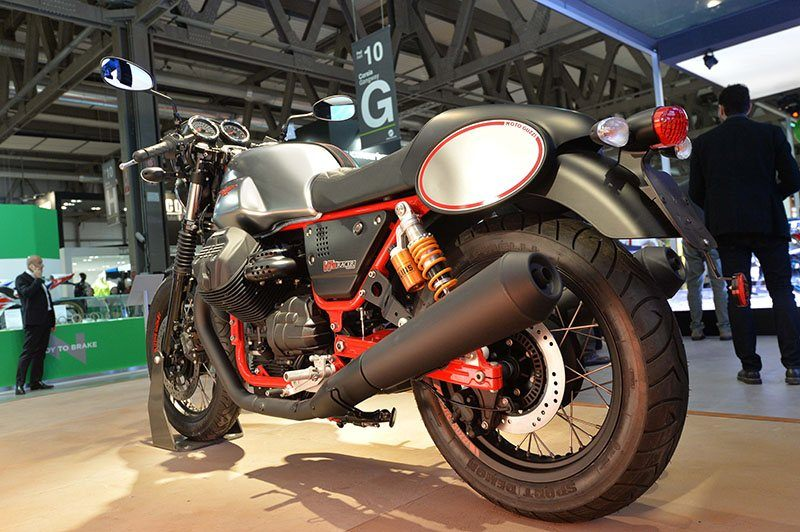 2017 Moto Guzzi V7 III Racer in Greensboro, North Carolina