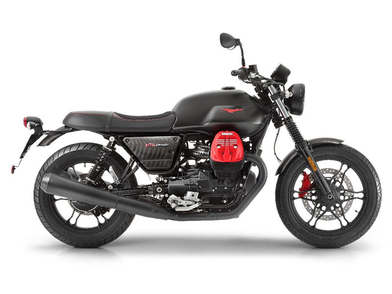 2018 Moto Guzzi V7 III Carbon Dark in Edwardsville, Illinois