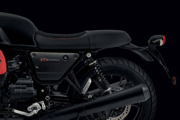 2018 Moto Guzzi V7 III Carbon Dark in West Chester, Pennsylvania - Photo 6