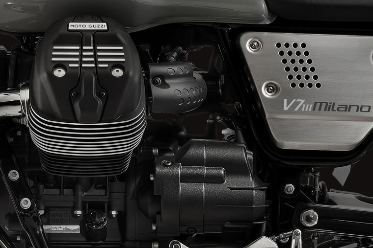 2018 Moto Guzzi V7 III Milano in Elk Grove, California - Photo 6