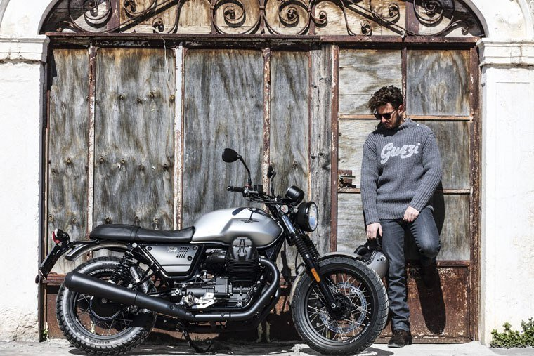 2018 Moto Guzzi V7 III Rough in Middleton, Wisconsin