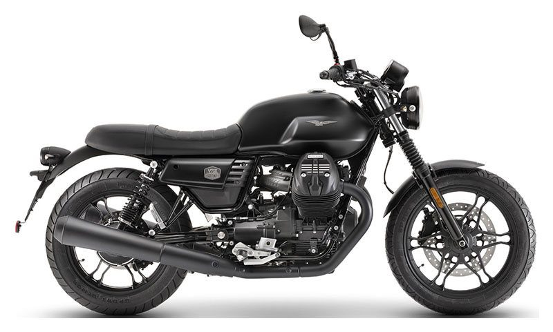 2019 Moto Guzzi V7 III Stone Night Pack in Ferndale, Washington