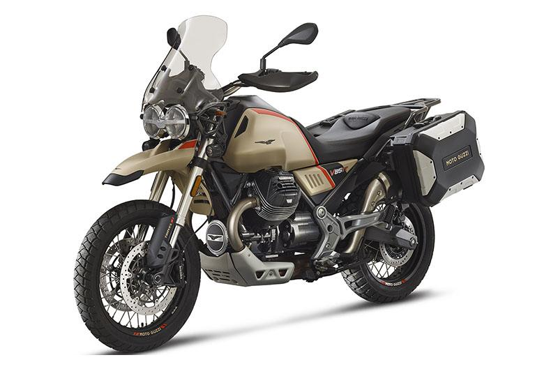 2020 Moto Guzzi V85 TT Travel in San Jose, California - Photo 2