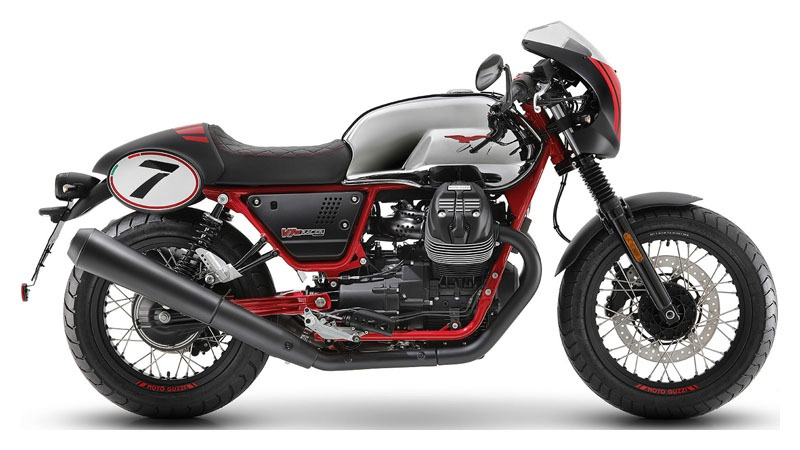 2020 Moto Guzzi V7 III Racer 10th Anniversary in Woodstock, Illinois - Photo 1