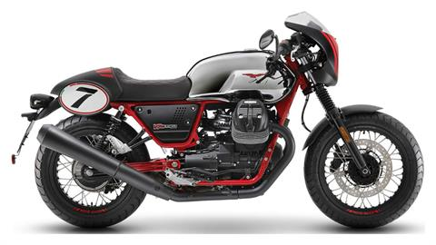 2020 Moto Guzzi V7 III Racer 10th Anniversary in Woodstock, Illinois